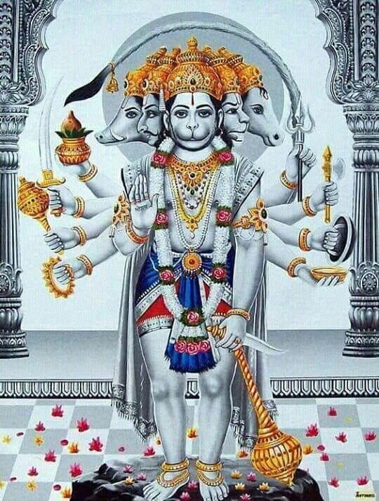 Best Panchmukhi Hanuman Images Hd Wallpapers Pictures
